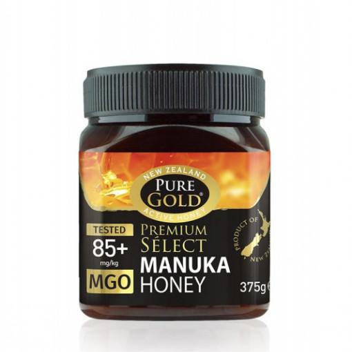 Miere Manuka Gold MGO 85+ - 375 g
