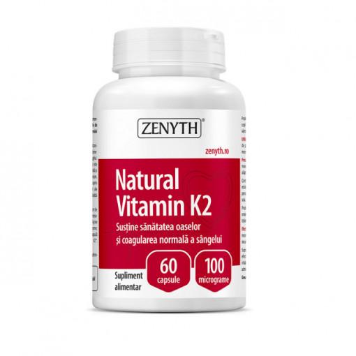 Natural Vitamin K2 - 60 cps