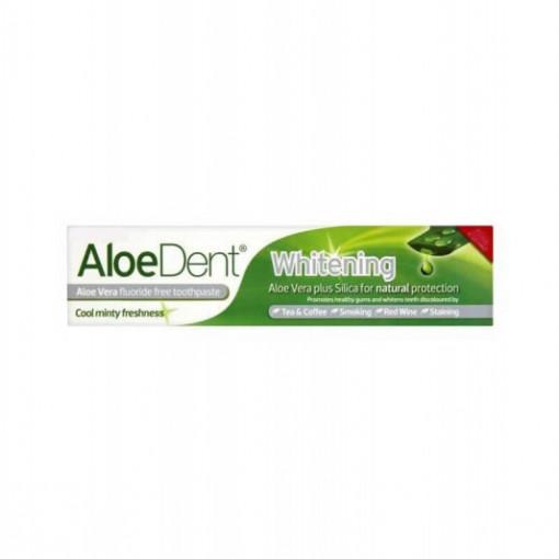 Pasta de dinti Whitening cu Aloe Vera si Siliciu -100 ml