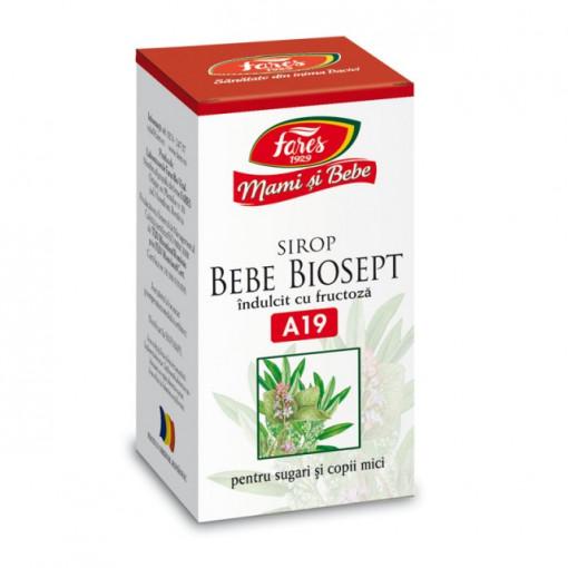 Sirop Biosept Bebe (Mami si Bebe) A19 - 100 ml Fares