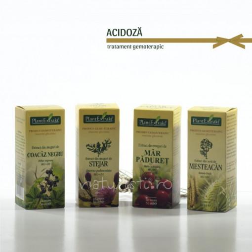 Tratament naturist - Acidoza (pachet)