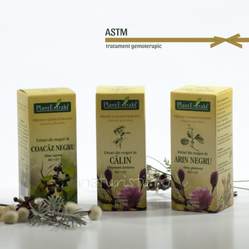 Tratament naturist - Astm (pachet)