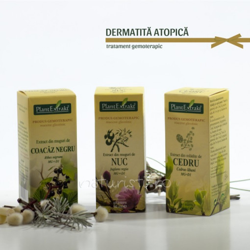 Tratament naturist - Dermatita atopica (pachet)