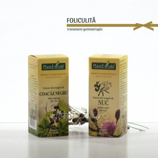 Tratament naturist - Foliculita (pachet)