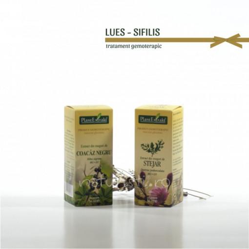 Tratament naturist - Lues (sifilis) (pachet)