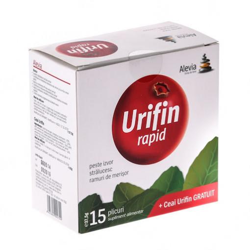Urifin rapid - 15 dz + Ceai Urifin - 20 dz gratis