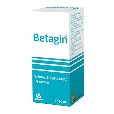 Betagin solutie dezinfectanta - 30 ml