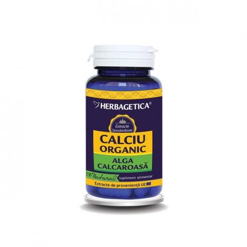 Calciu Organic 60 cps