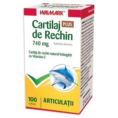 Poze Cartilaj de rechin 740 mg Plus - 30 cps