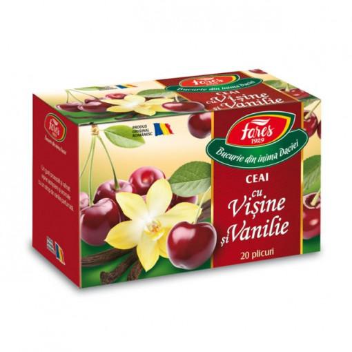 Ceai cu visine si vanilie - 20 dz Fares