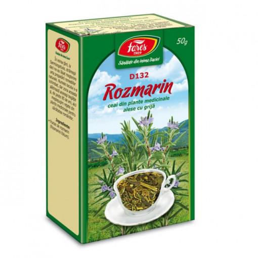 Ceai Rozmarin -Frunze D132 - 50 gr Fares