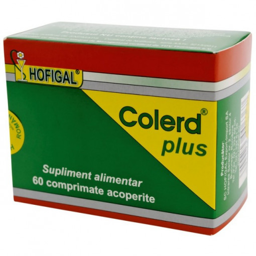 Poze Colerd Plus - 60 cpr Hofigal