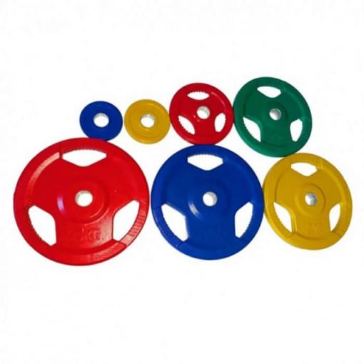 Disc olimpic colorat - 5 kg