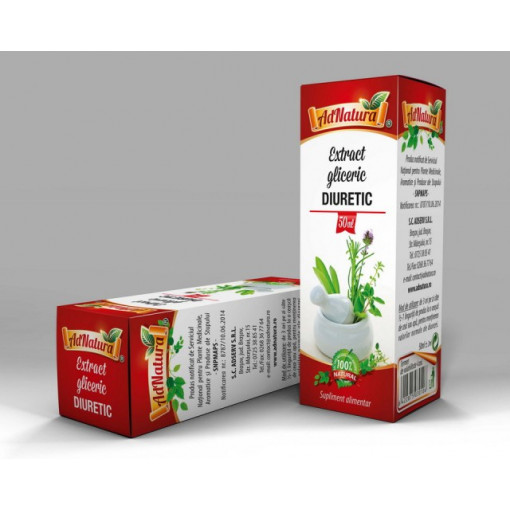 Extract Gliceric Diuretic - 50 ml