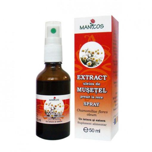 Extract uleios de musetel presat la rece 50 ml spray
