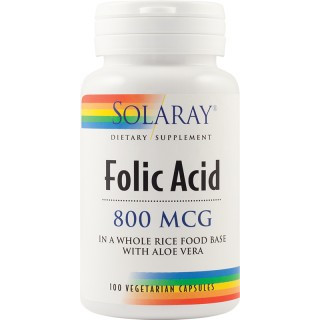 Folic Acid 800mcg - 100 capsule vegetale