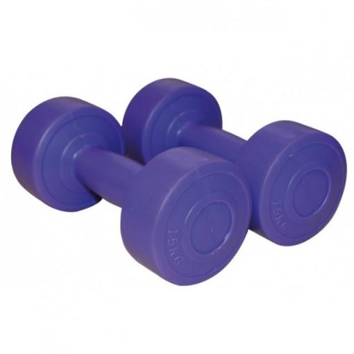 Gantere aerobic mov 1.5 kg x2 1163