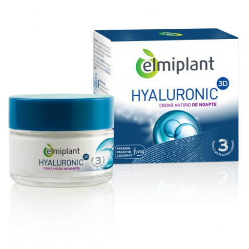 Hyaluronic Crema Antirid Noapte - 50 ml