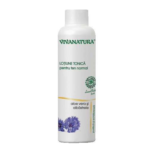 Lotiune tonica pentru ten normal - 150 ml Vivanatura