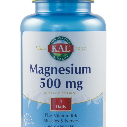 Poze Magnesium 500 mg - 60 tablete