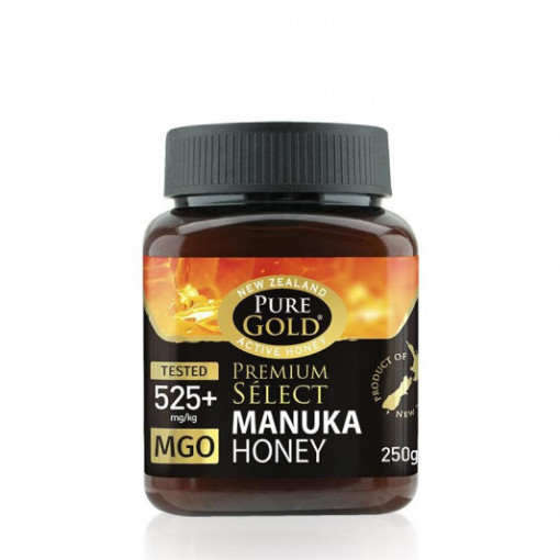Miere Manuka Gold MGO 525+ - 250 g