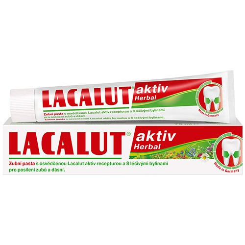 Pasta de dinti Lacalut Aktiv Herbal - 75 ml