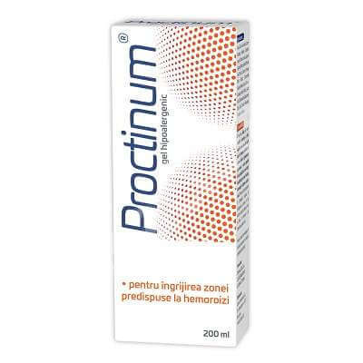 Proctinum gel hipoalergenic igiena ano-rectala - 200 ml
