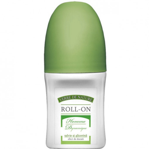 Roll-on Homme Dynamique cu salvie si glicerina 50 ml