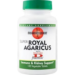 Poze Super Royal Agaricus - 120 tablete vegetale