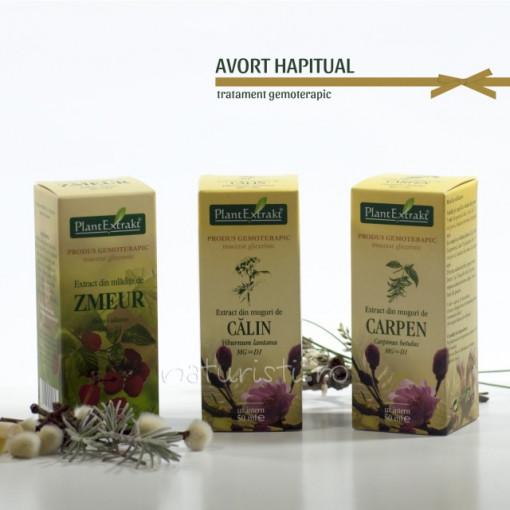 Tratament naturist - Avort habitual (pachet)