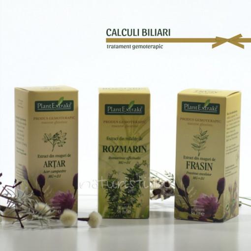 Tratament naturist - Calculi biliari (pachet)