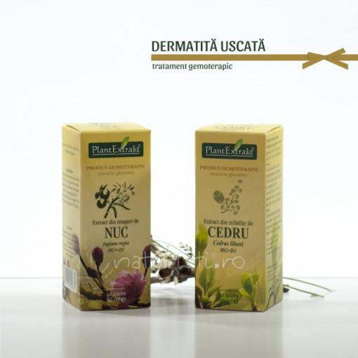 Tratament naturist - Dermatita uscata (pachet)