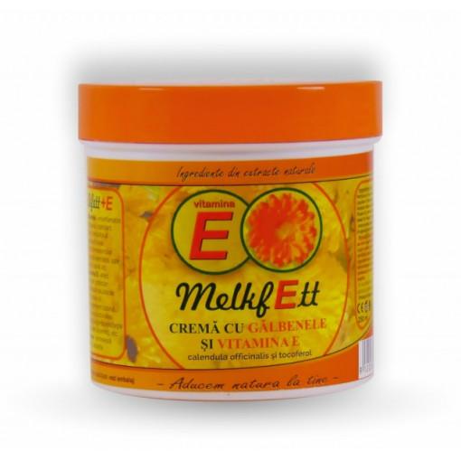 Melkfett - crema cu galbenele si vitamina E - 250ml