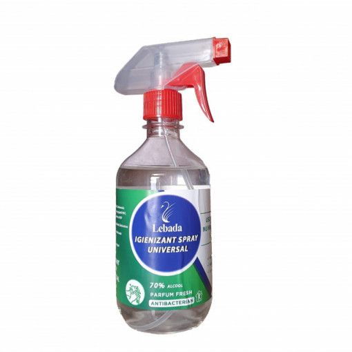 Igienizant Lebada - spray universal - 500 ml