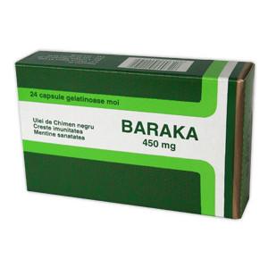 Baraka 450mgx24caps