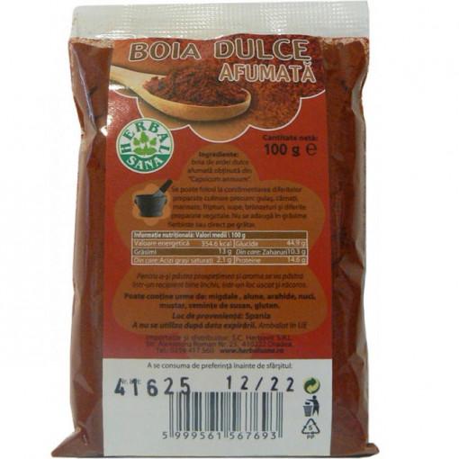 Boia dulce afumata - 100 g