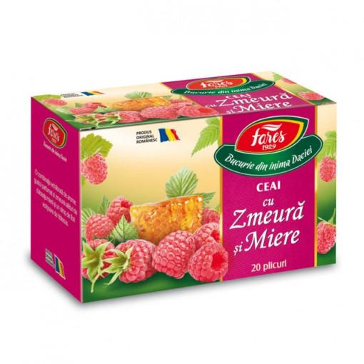 Ceai cu zmeura si miere - 20 dz Fares