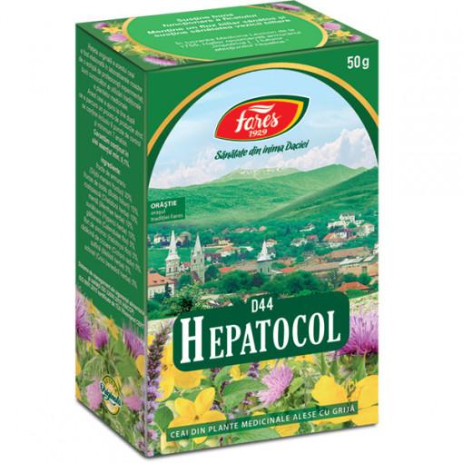Ceai hepatocol F 50g