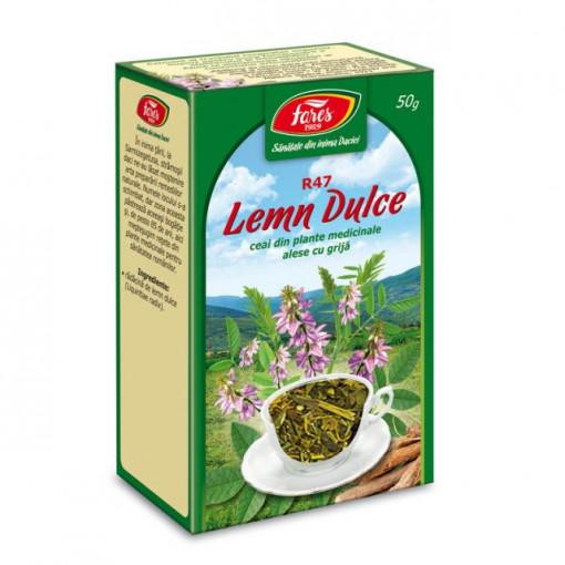 Ceai Lemn Dulce - Radacina - 50 gr Fares