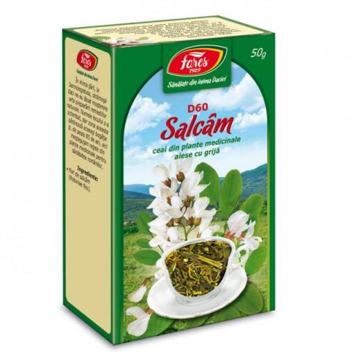 Ceai Salcam - Flori D60 - 50 gr Fares
