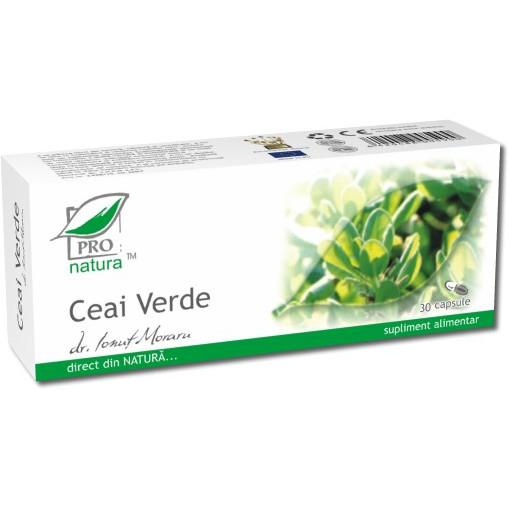 Ceai verde Medica - 30 cps