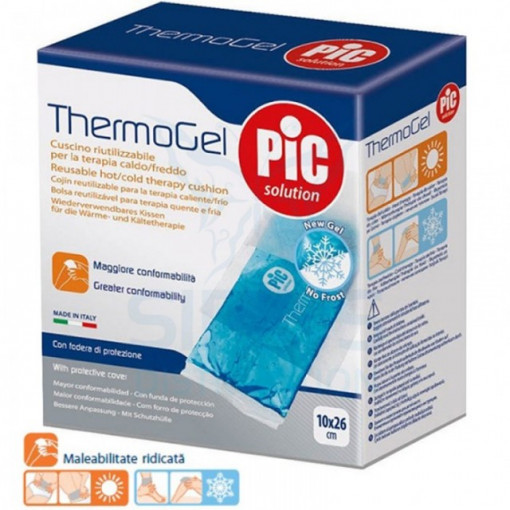 Compresa reutilizabila Thermogel pentru terapie calda/rece 10x26 cm