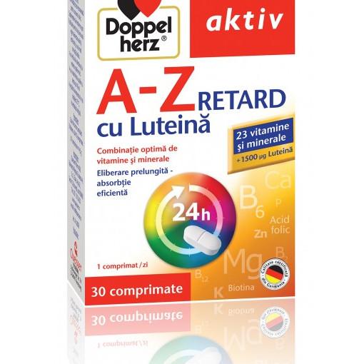 Doppelherz Aktiv A-Z Retard cu Luteina - 30 cpr