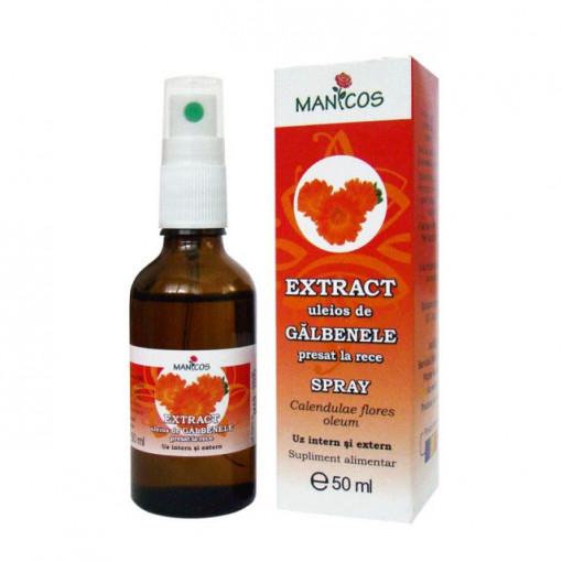 Extract uleios de galbenele presat la rece 50 ml spray