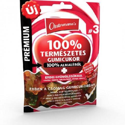 Jeleu din suc de mar 100% fara gluten - Fructe de padure - 80 g
