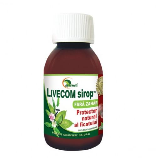 LiveCom Sirop Fara Zahar - 100 ml