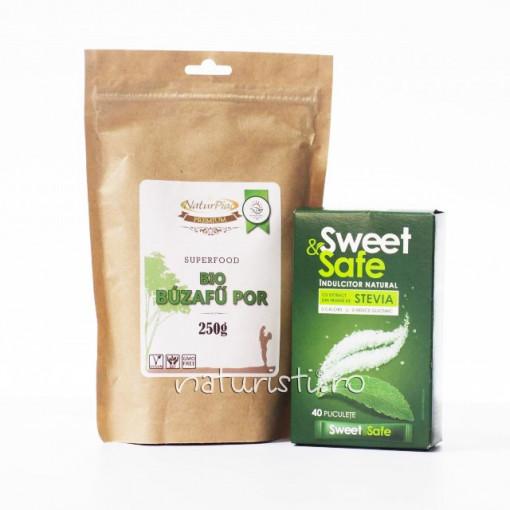 Pachet Tonic - Stevia si Grau Verde
