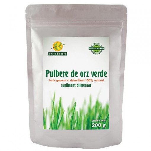 Poze Pulbere orz verde - 200 g Phyto Biocare