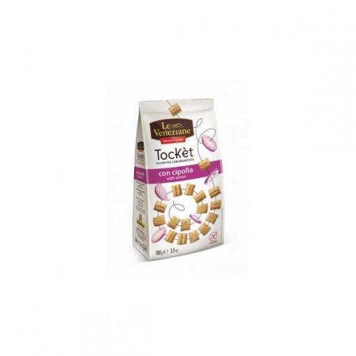 Tocket cu Ceapa Snack- 100g - Le Veneziane