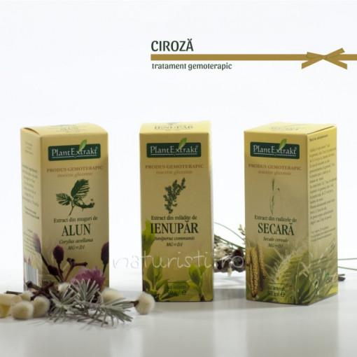 Tratament naturist - Ciroza (pachet)